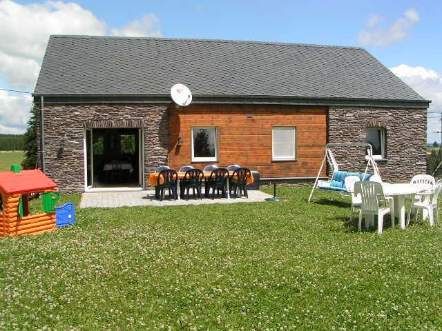Het vakantiehuis Casa del Perro voor 10 of 6 personen te Vielsalm in de Belgische Ardennen
