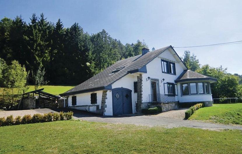 De vakantievilla te Barvaux in de Belgische Ardennen.