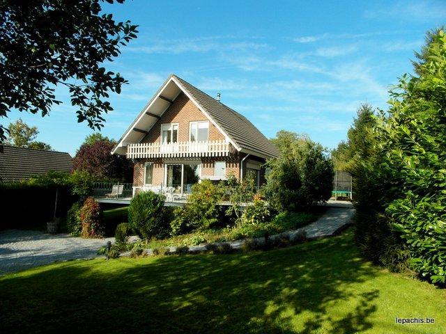 Het vakantiehuis Melrose te Magoster, in de Belgische Ardennen
